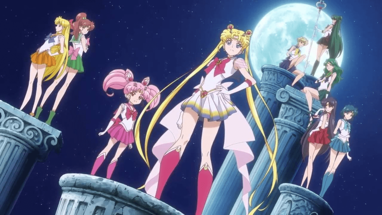 sailor moon crystal anime origen