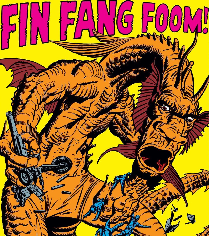 fin fang foom strange tales 89 jack kirby