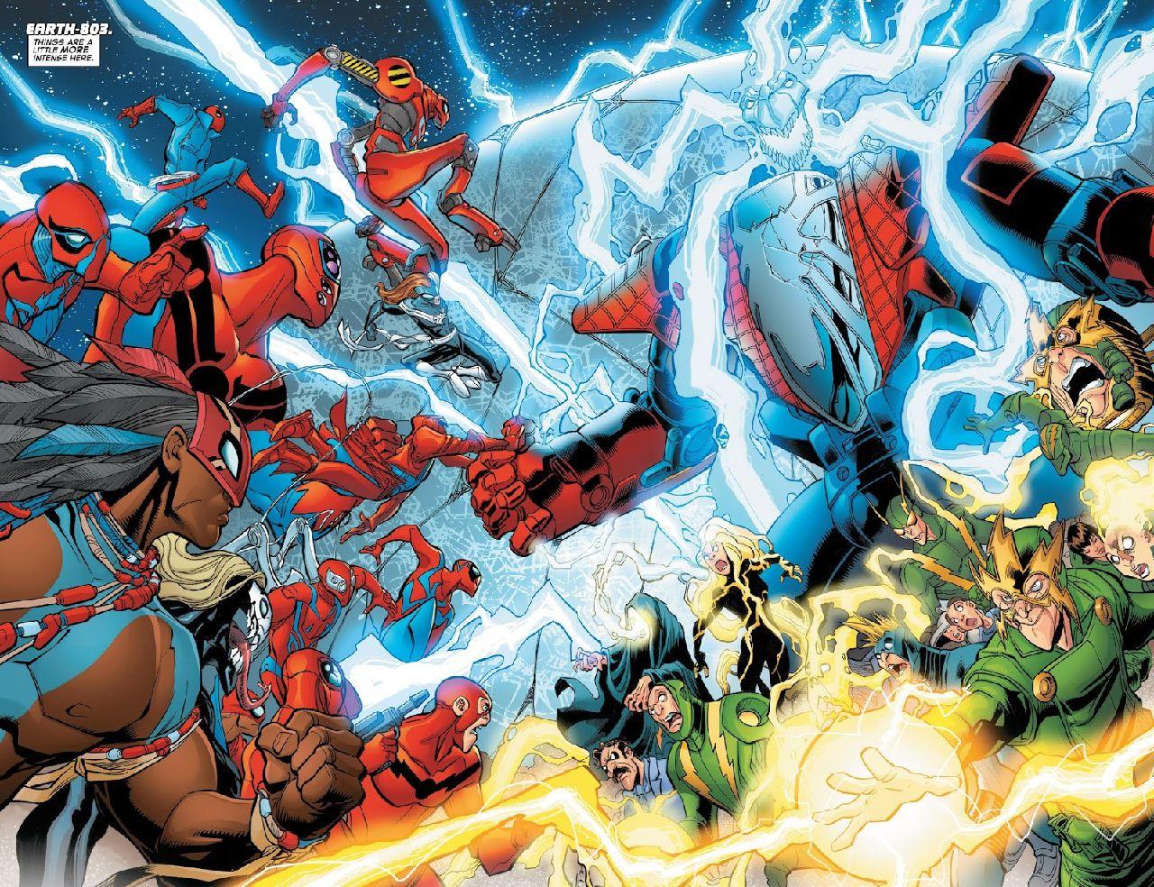 villanos de spiderman marvel comics electro