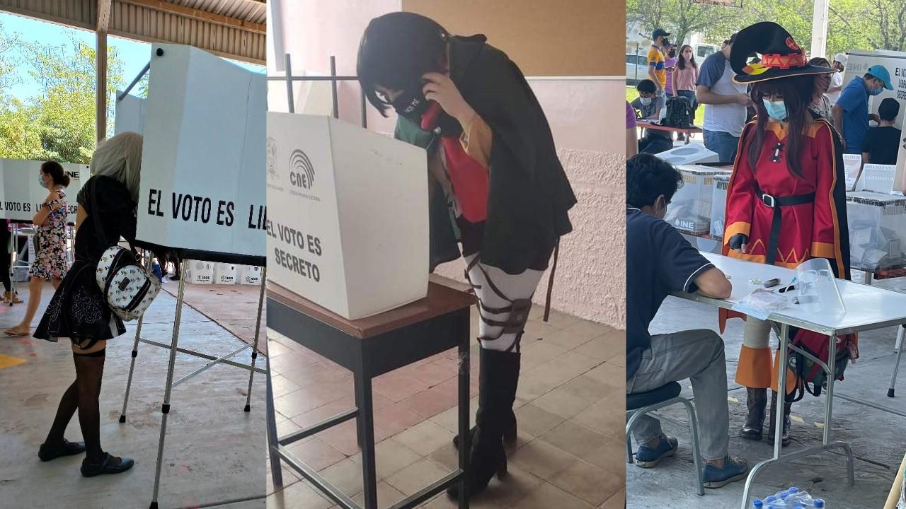 cosplay elecciones mexico 2021