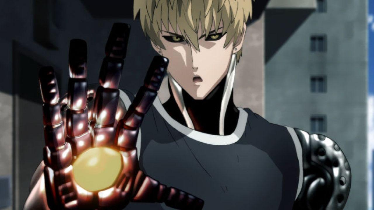 genos one punch man personajes mas poderosos