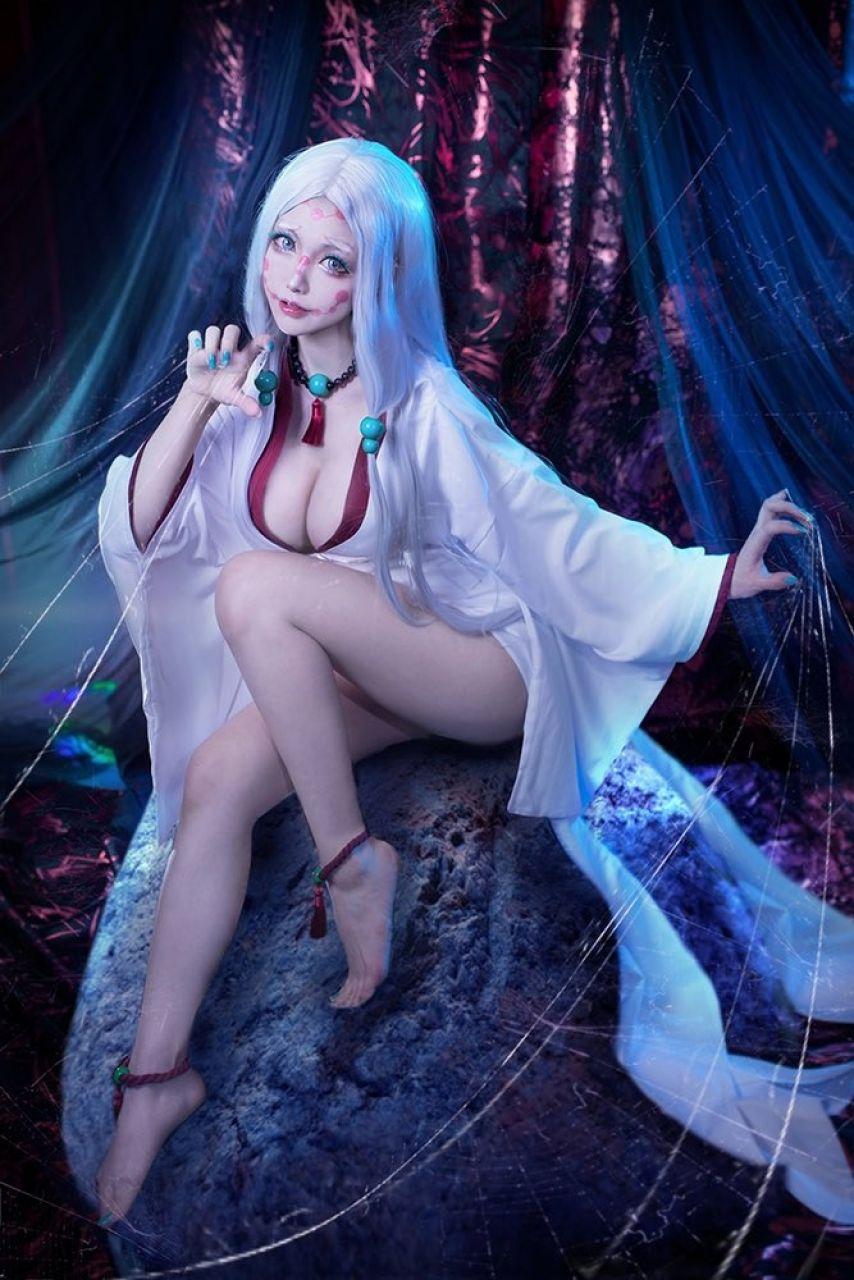 mther spider kimetsu no yaiba cosplay