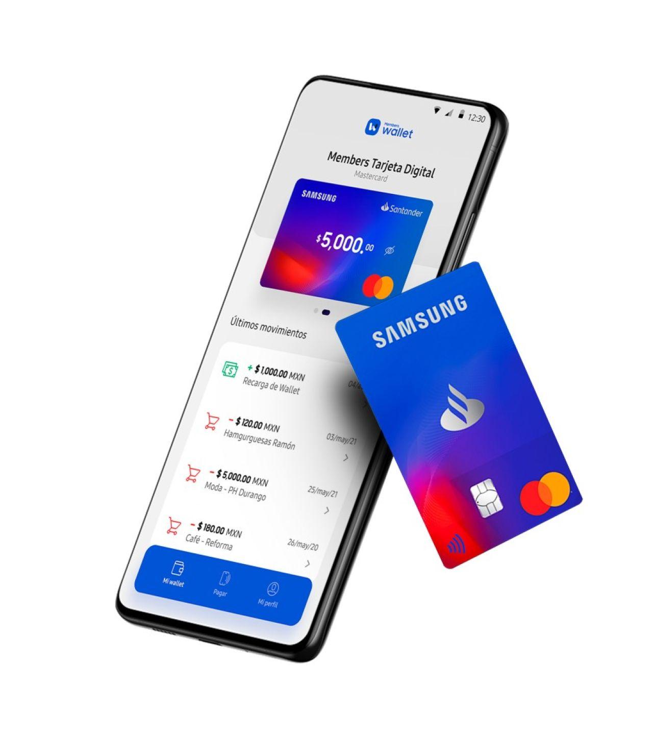 samsung members wallet cartera digital