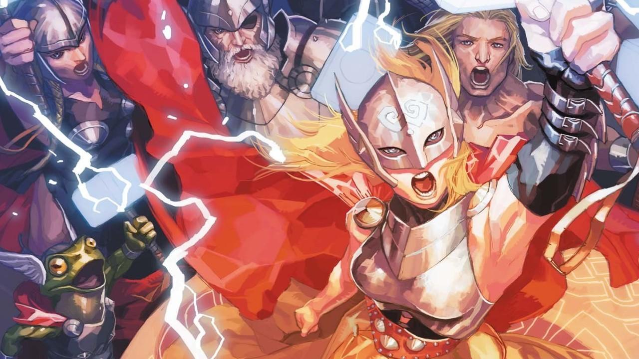 serie de loki thor rana quien es marvel comics