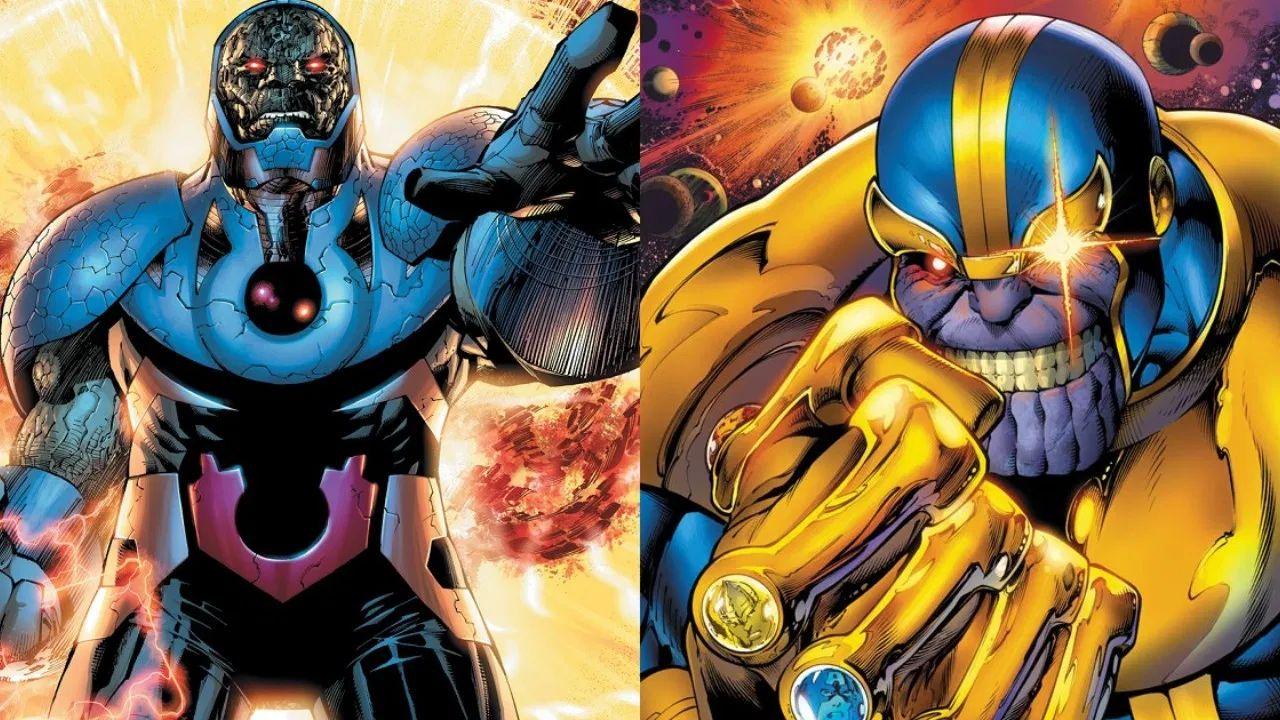 thanos darkseid marvel comics dc comics