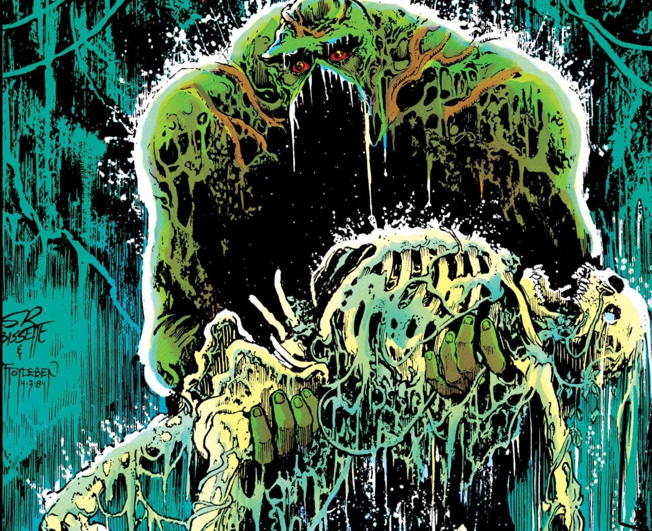 personajes de dc comics swamp thing