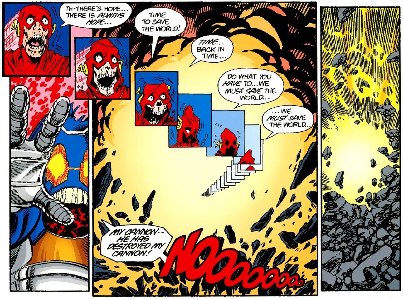 personajes de dc comics flash