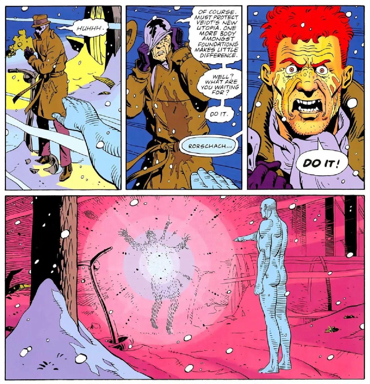 personajes de dc comics roscharch