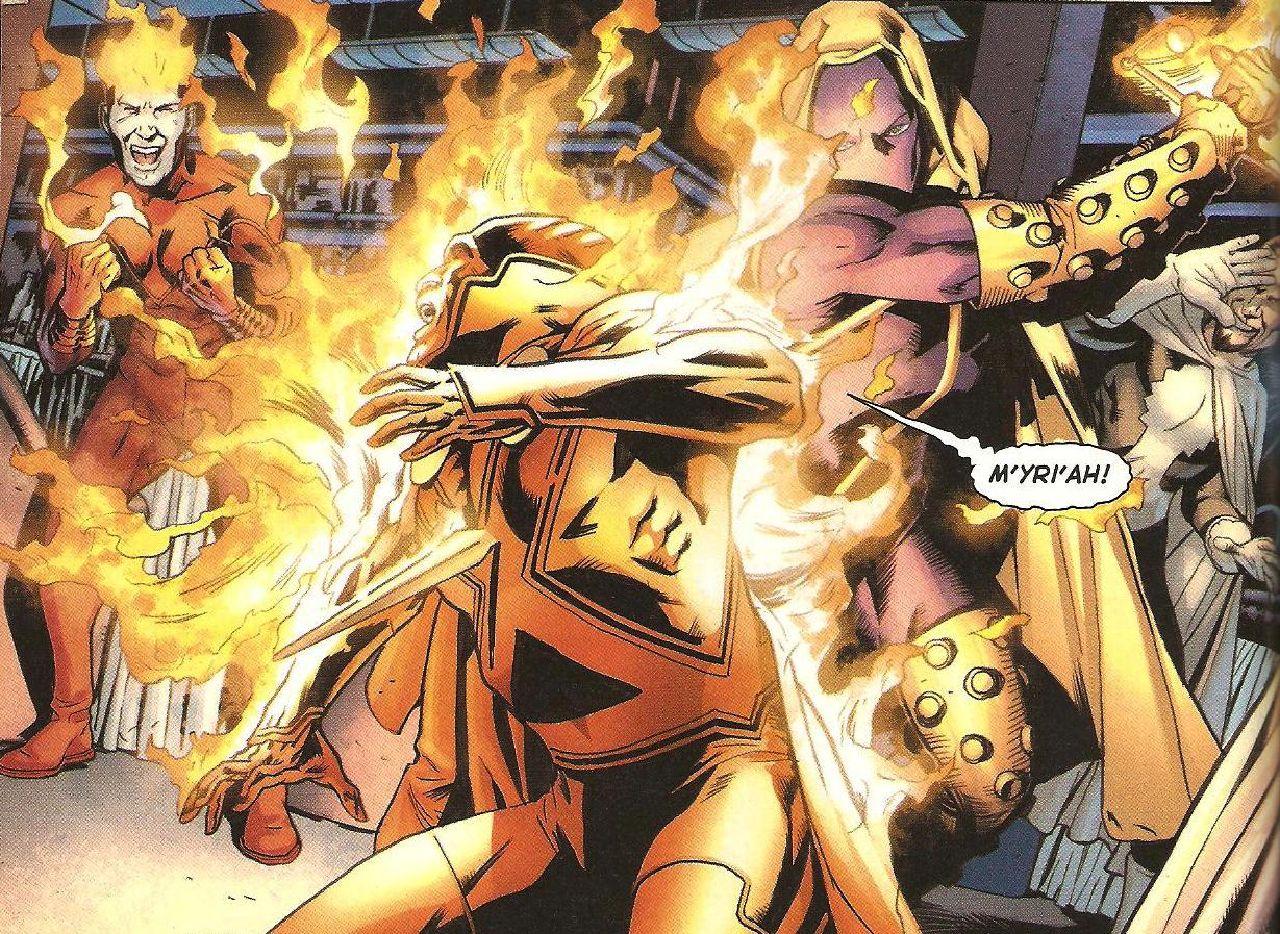 personajes de dc comics martian manhunter