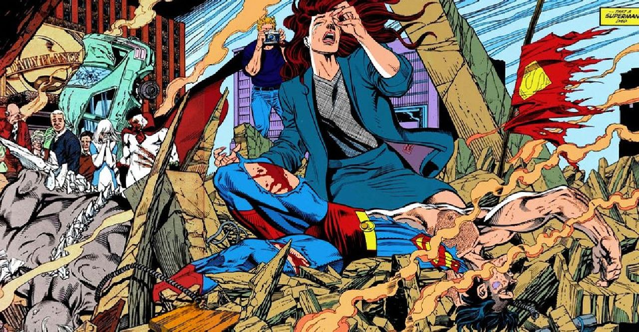 personajes de dc comics superman