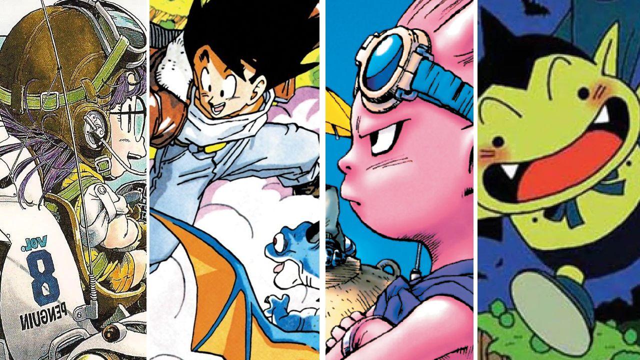 personajes de dragon ball akira toriyama