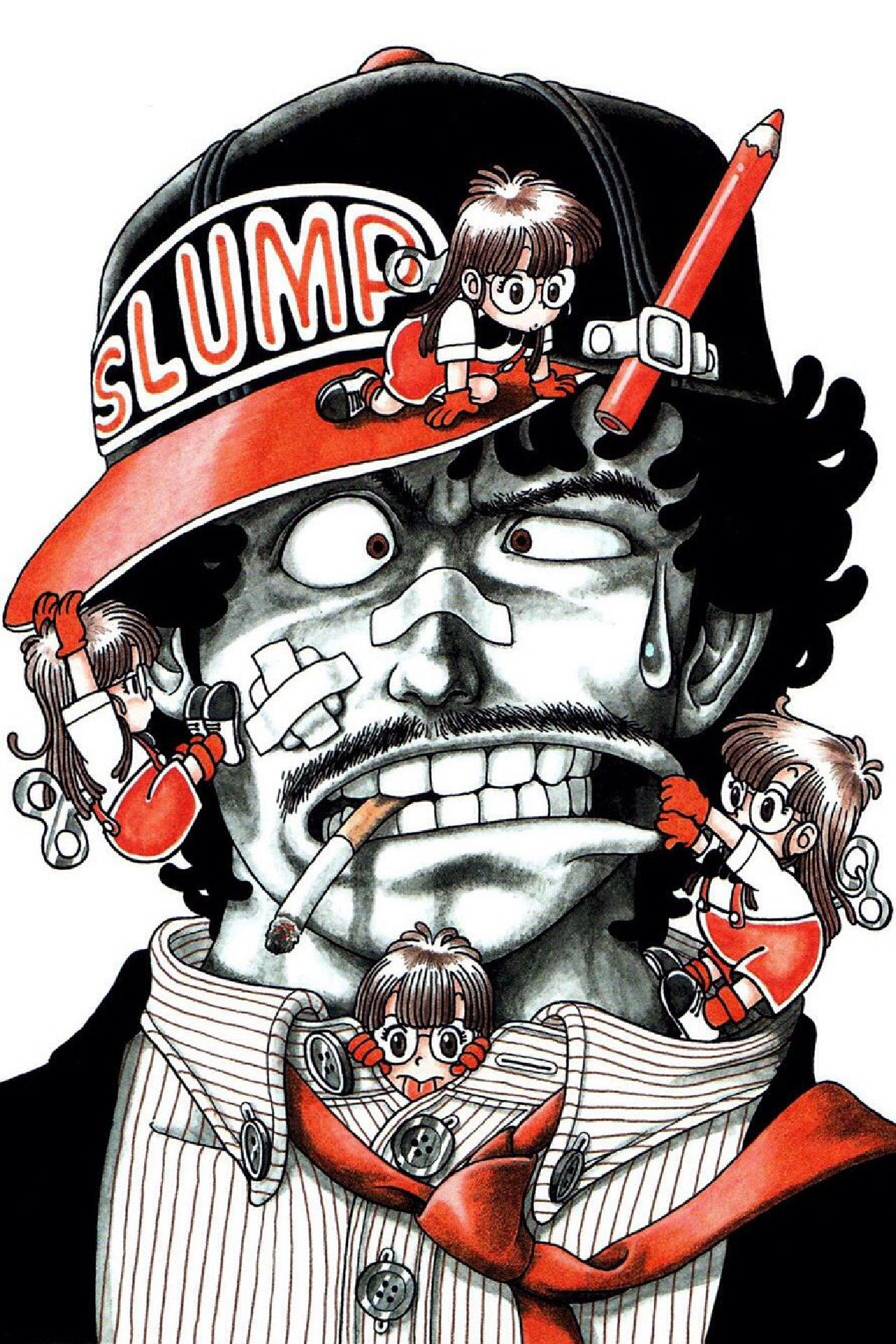 personajes de dragon ball dr. slump