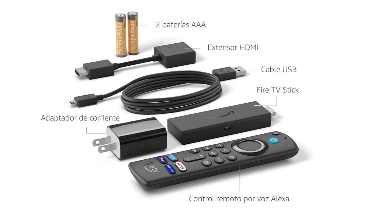 Amazon Fire TV Stick que hay en la caja