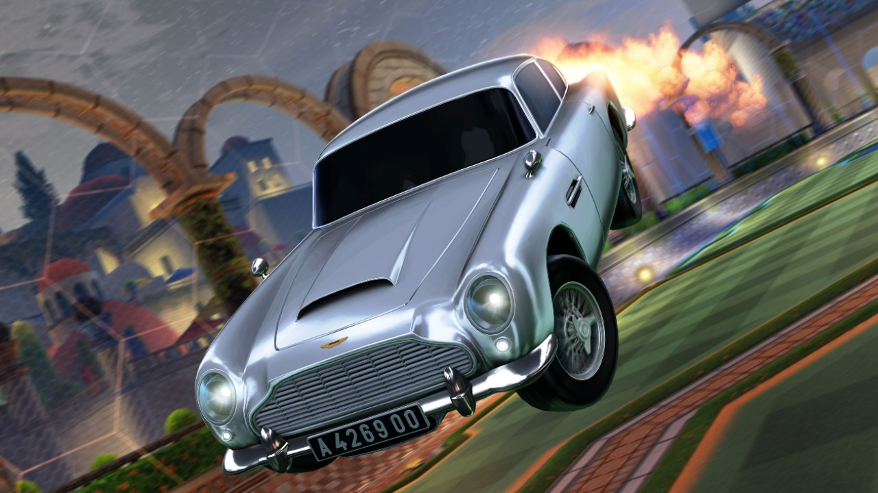 james bond rocket league aston martin 007