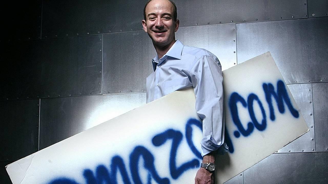 Jeff Bezos CEO Amazon Historia