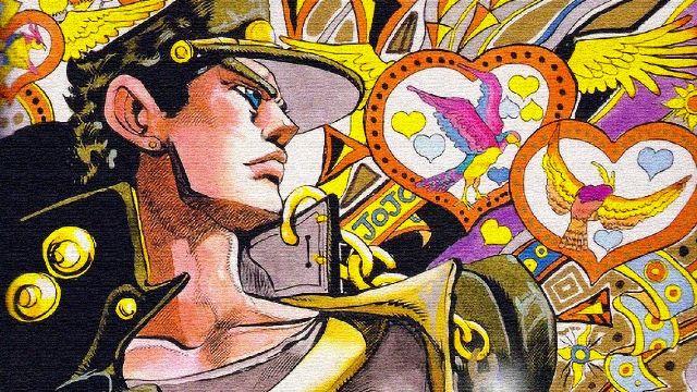 Jojo Stardust Crusader anime manga