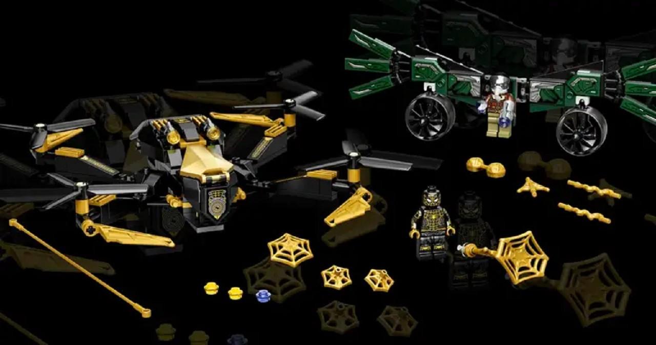 Vulture Legos Spiderman Película Spider-Man No Way Home