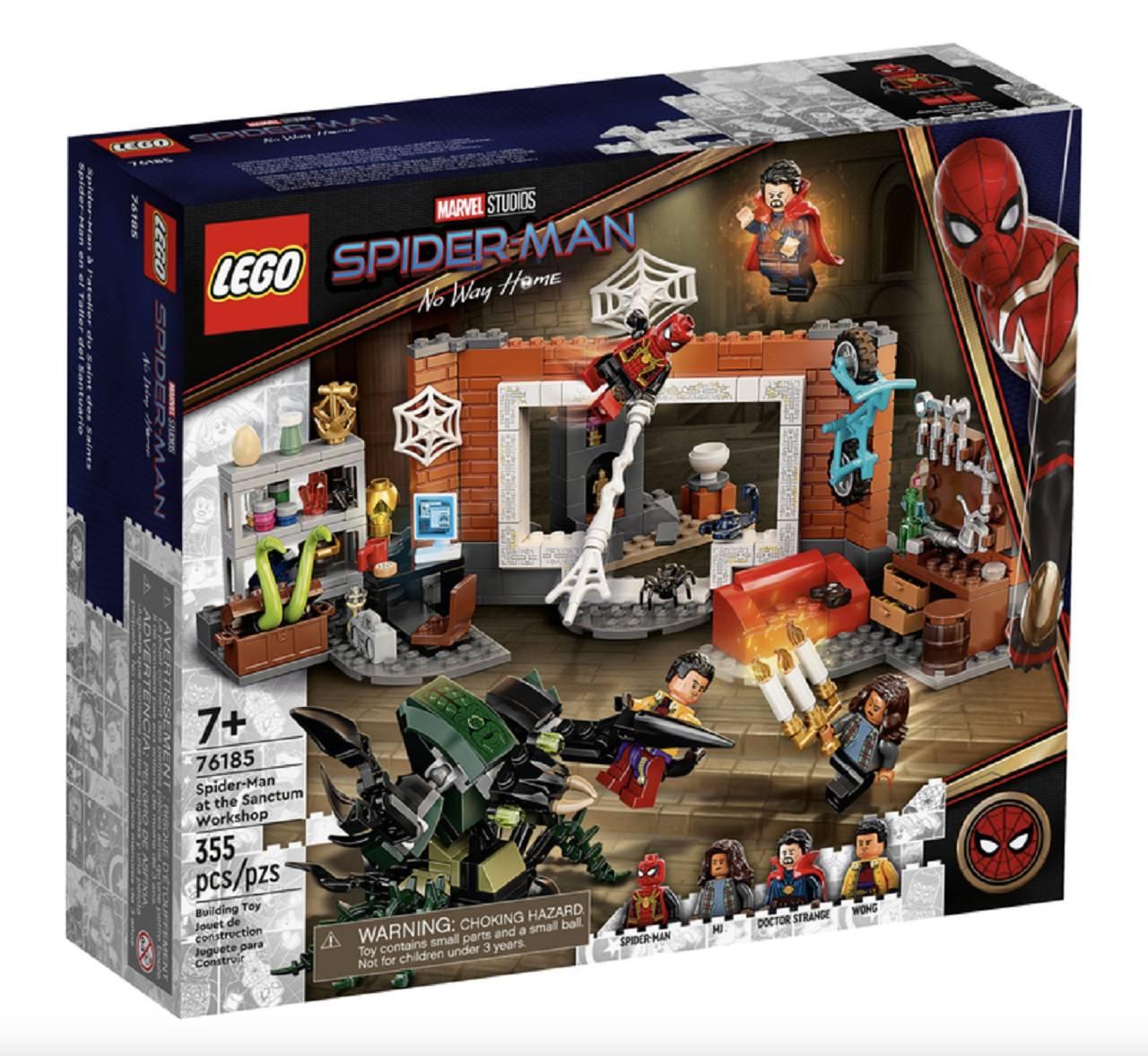 Legos Spider-Man Traji Spider-Man Dr. Strange Wong