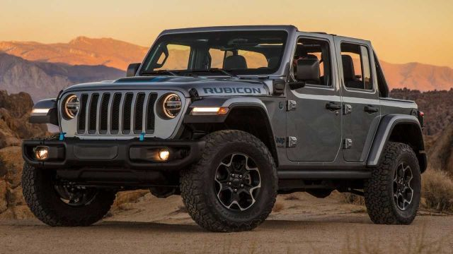 Jeep autos electricos todo terreno 4x4