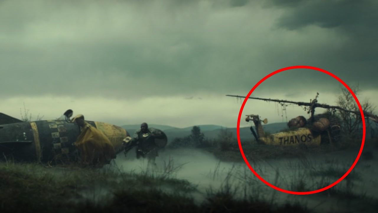 loki serie thanos helicoptero amarillo comics