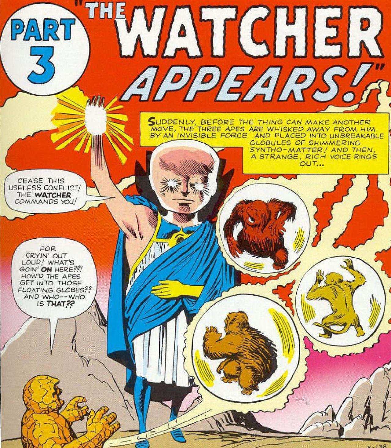 superheroes de marvel uatu