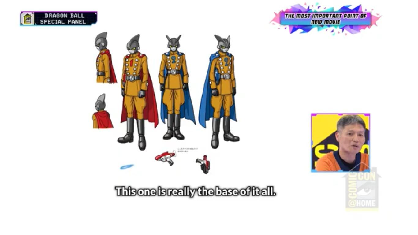 Imágenes Dragon Ball Super Nueva Película