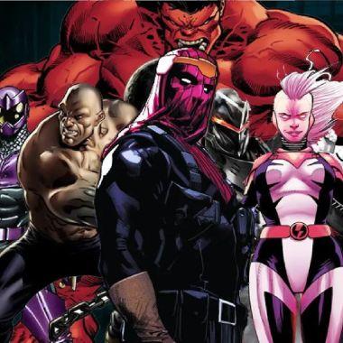 personajes de Marvel thunderbolts mcu