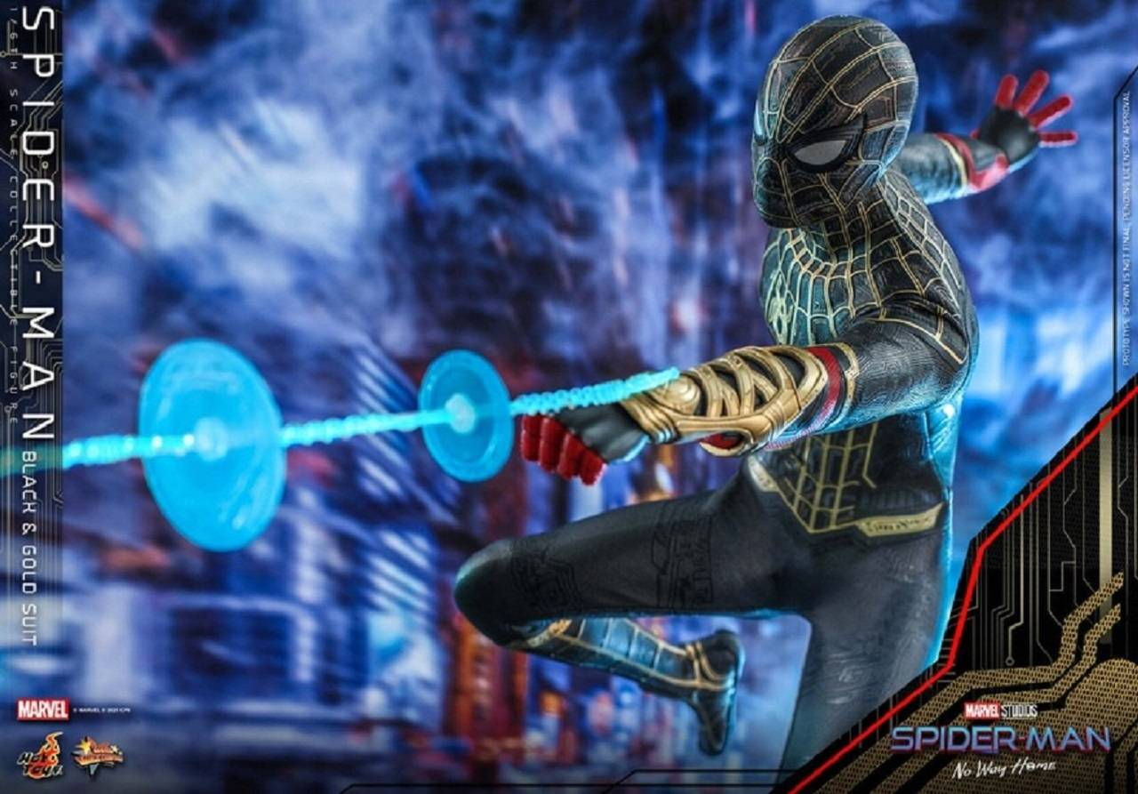 Spider Man 3 Spiderverse Hot Toys No Way Home