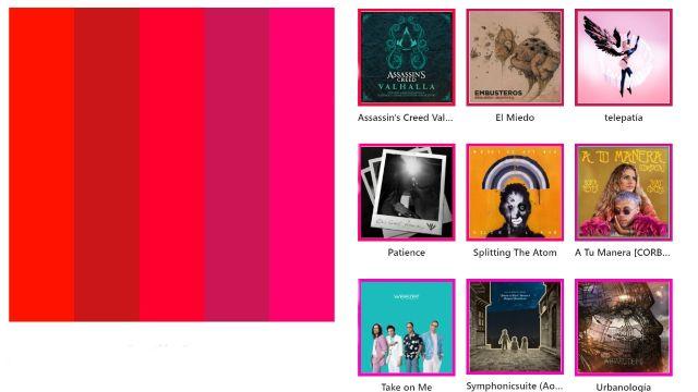 Spotify paleta de colores palette tutorial