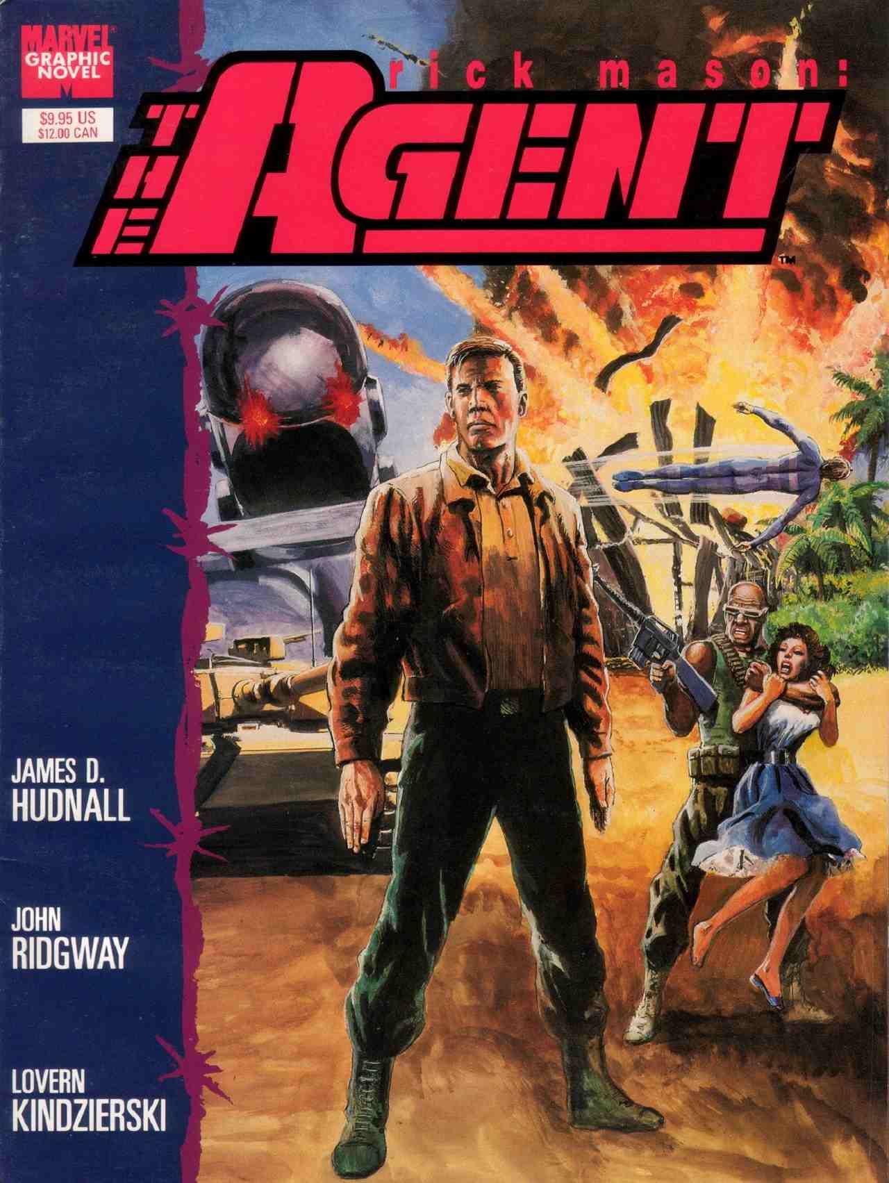 Rick Mason Easter Eggs Black Widow Película The Agent