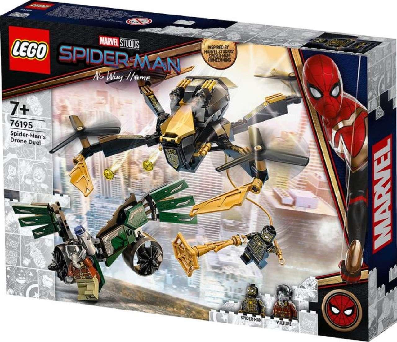 Vulture Spider-Man No Way Home Lego Spiderman