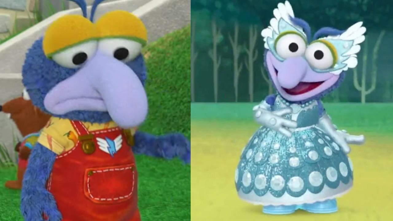 Muppets Babys gonzo princesa