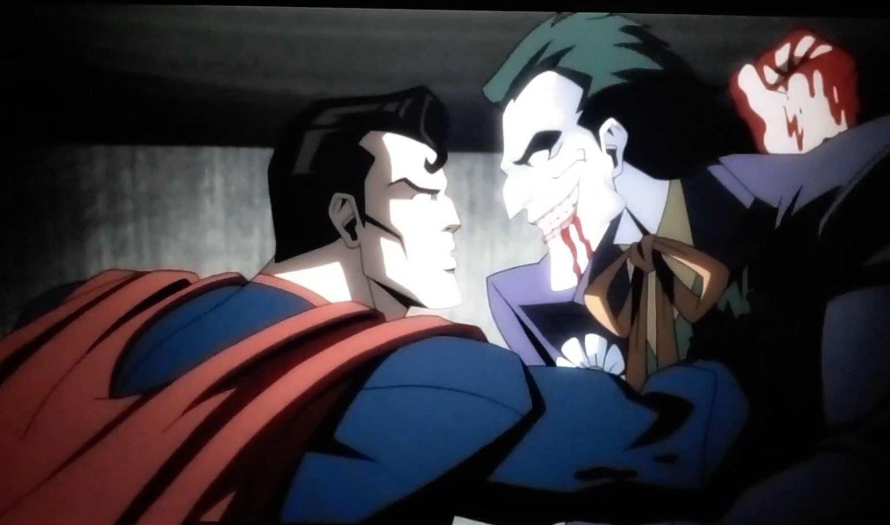 Superman mata joker injustice pelicula