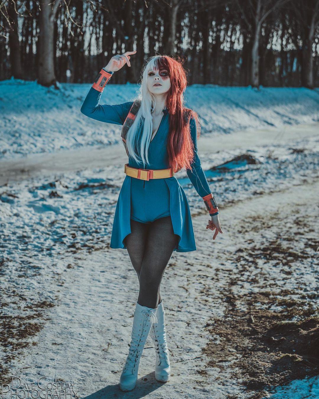 cosplay todoroki femenino