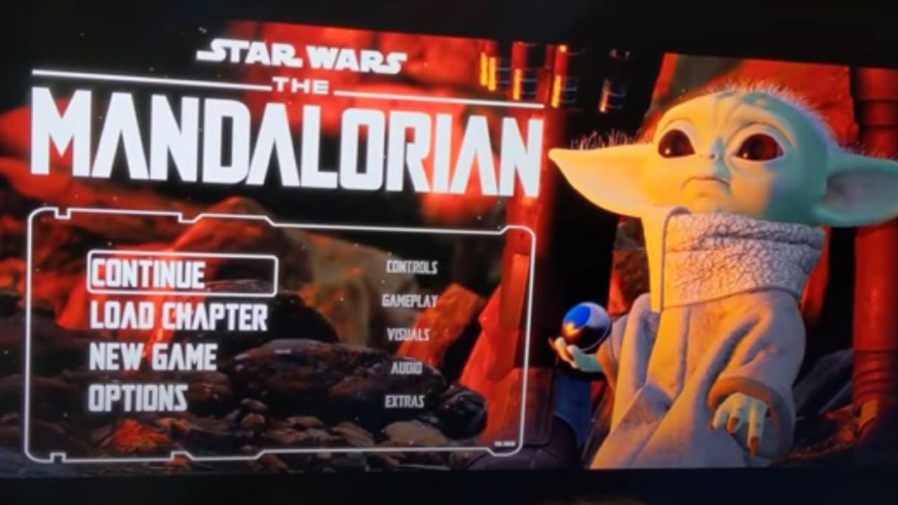 The mandalorian videojuego video filtrado