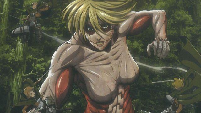 Shingeki no Kyojin colaboración bosque