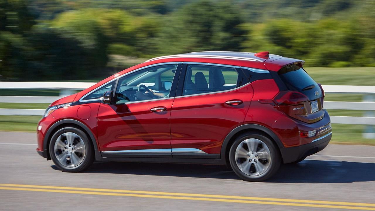 Chevy Bolt EV reseña auto
