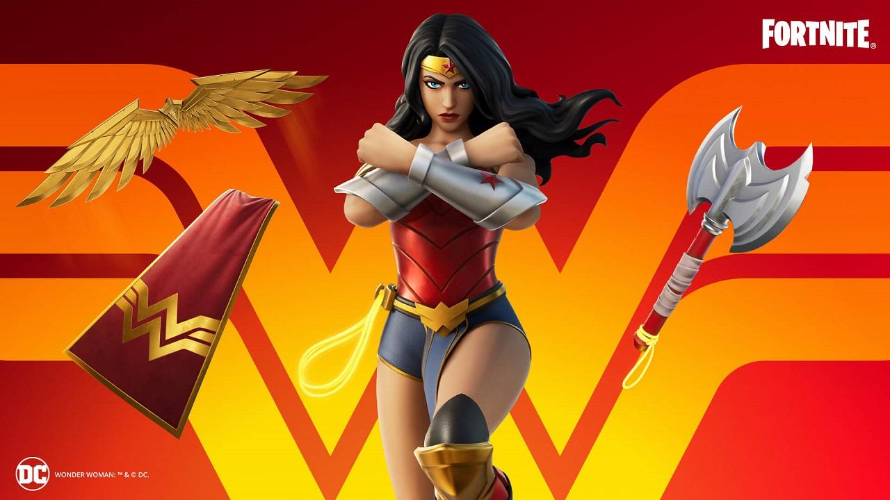 Wonder Woman Fortnite Skin Copa Wonder Woman