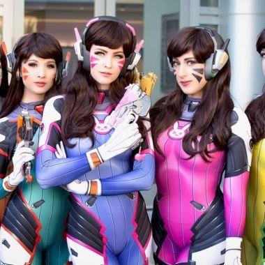 Cosplay personajes populares anime tv series