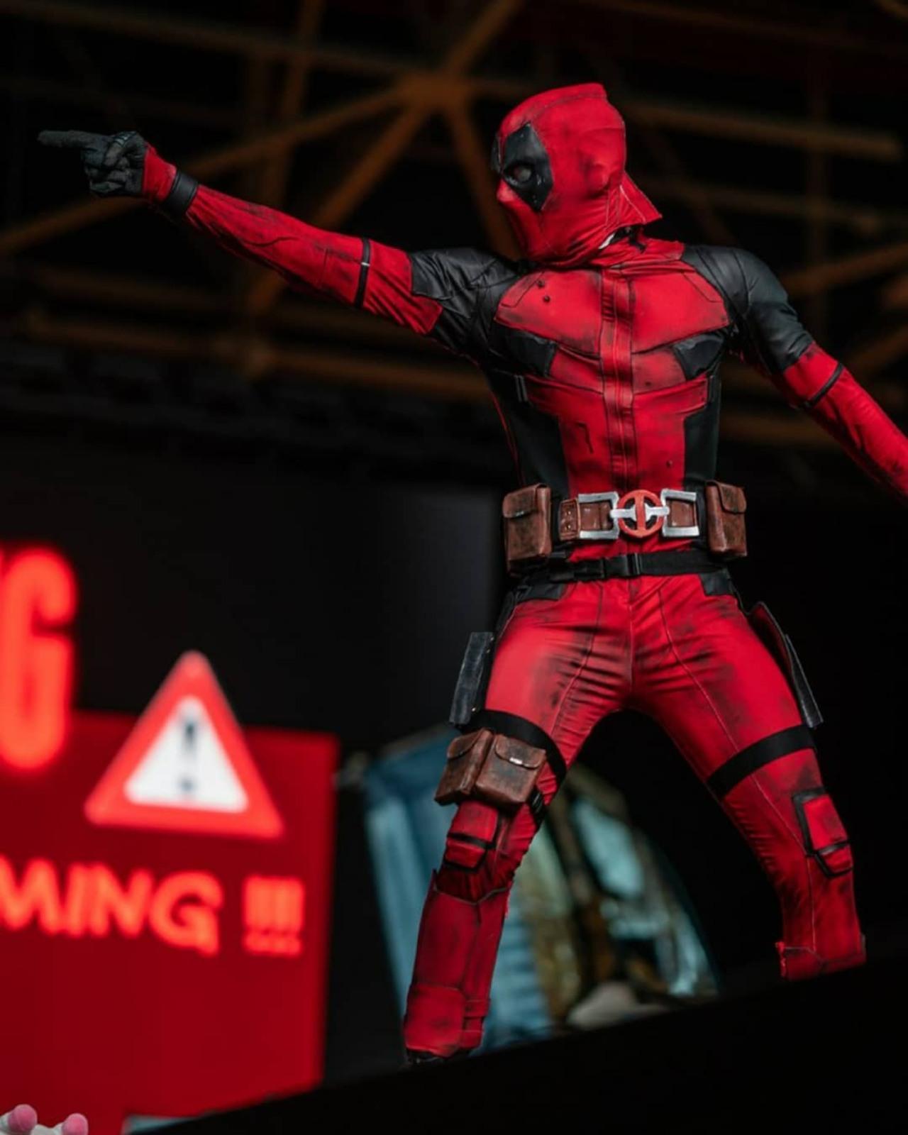 Deadpool cosplay personaje más popular
