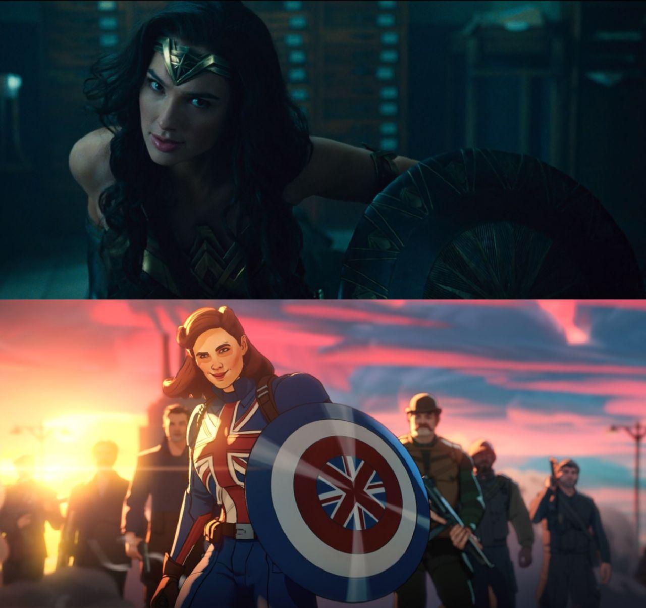 superheroes de marvel capitana carter