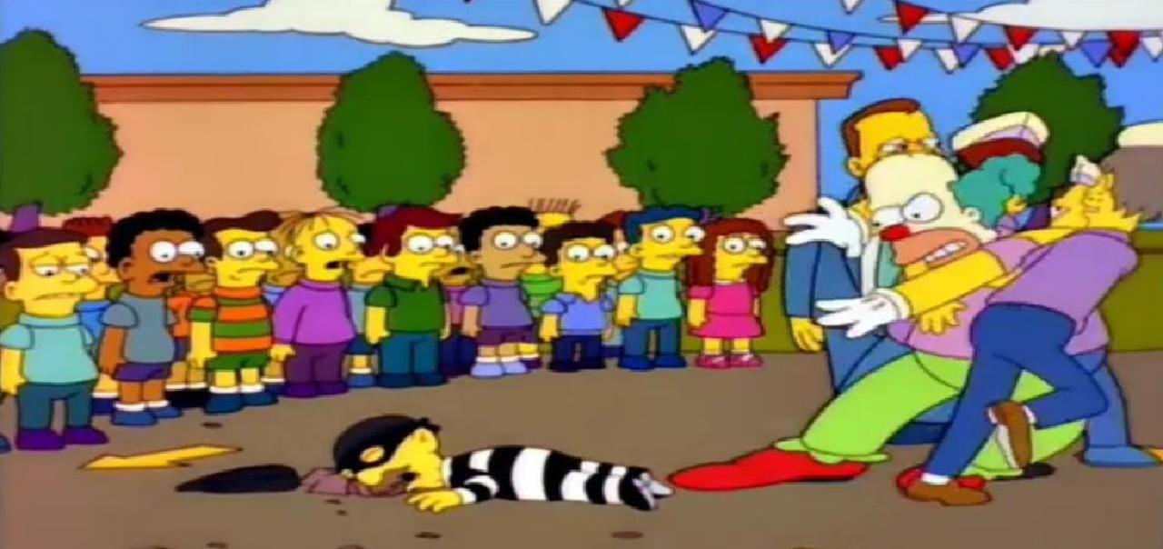 personajes de los simpson krusty