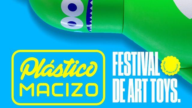 Festival Art Toys Plástico Macizo Ciudad de México