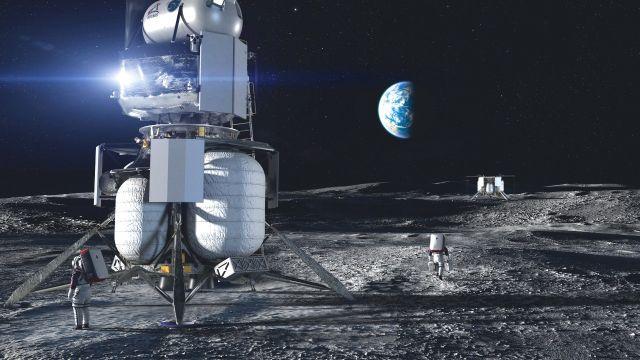 Jeff Bezos demanda NASA modulo lunar