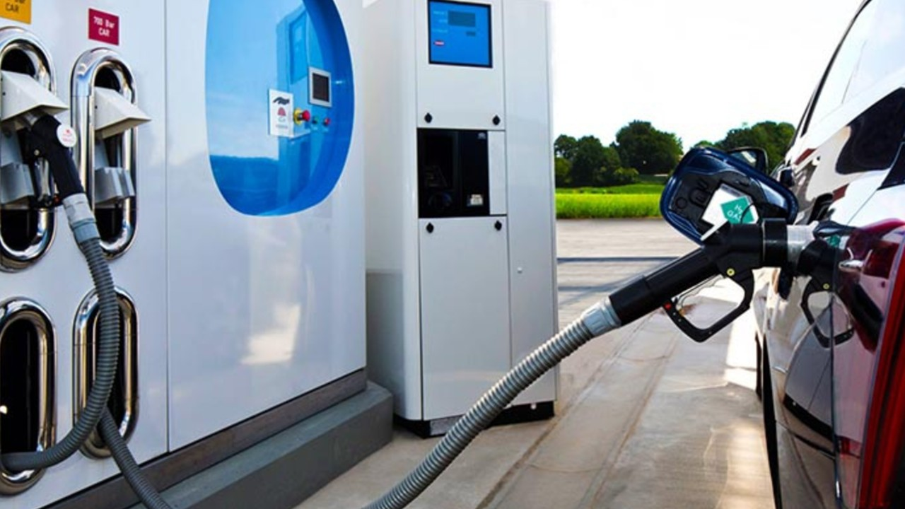 vehiculos hidrogeno dispensador centro de servicio