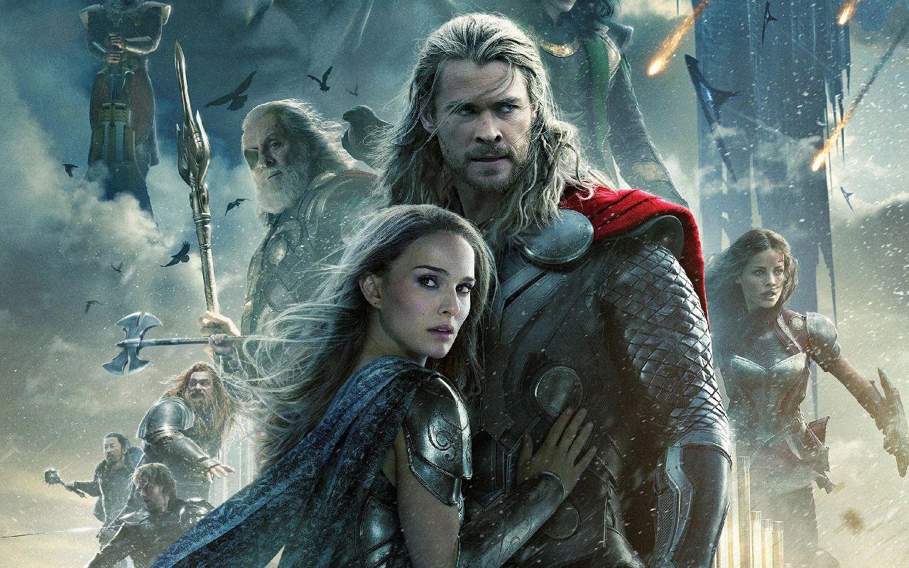 superheroes de marvel thor