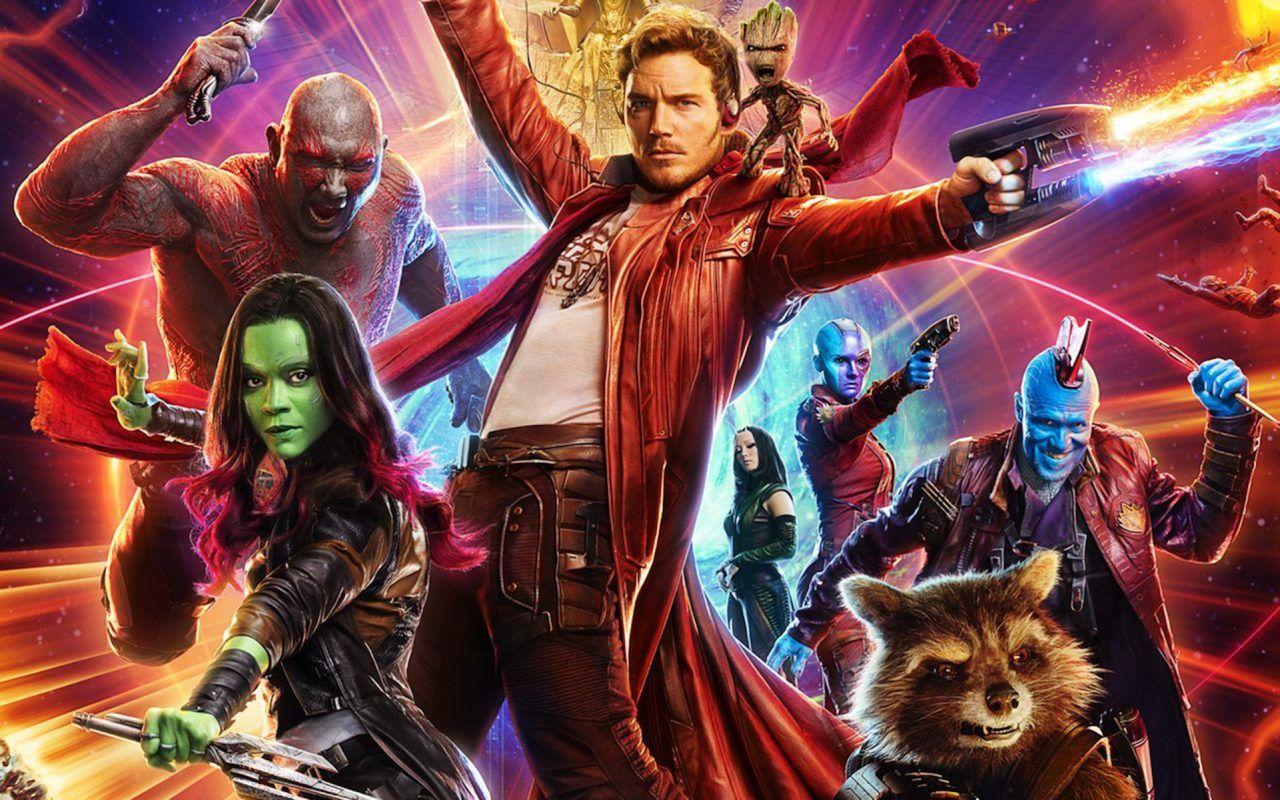 superheroes de marvel guardianes de la galaxia