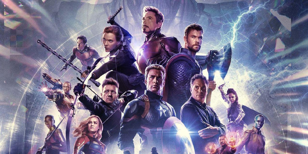 superheroes de marvel endgame