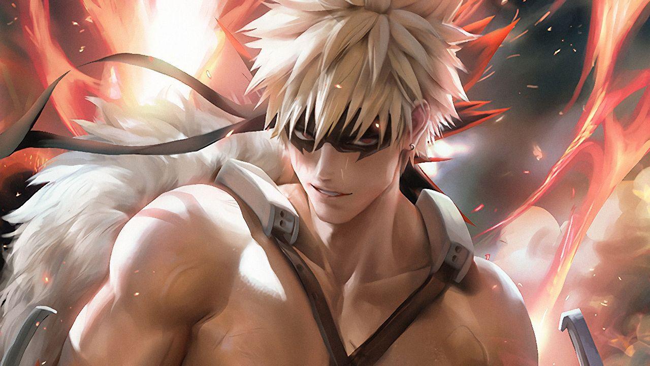 my hero academia anime bakugo