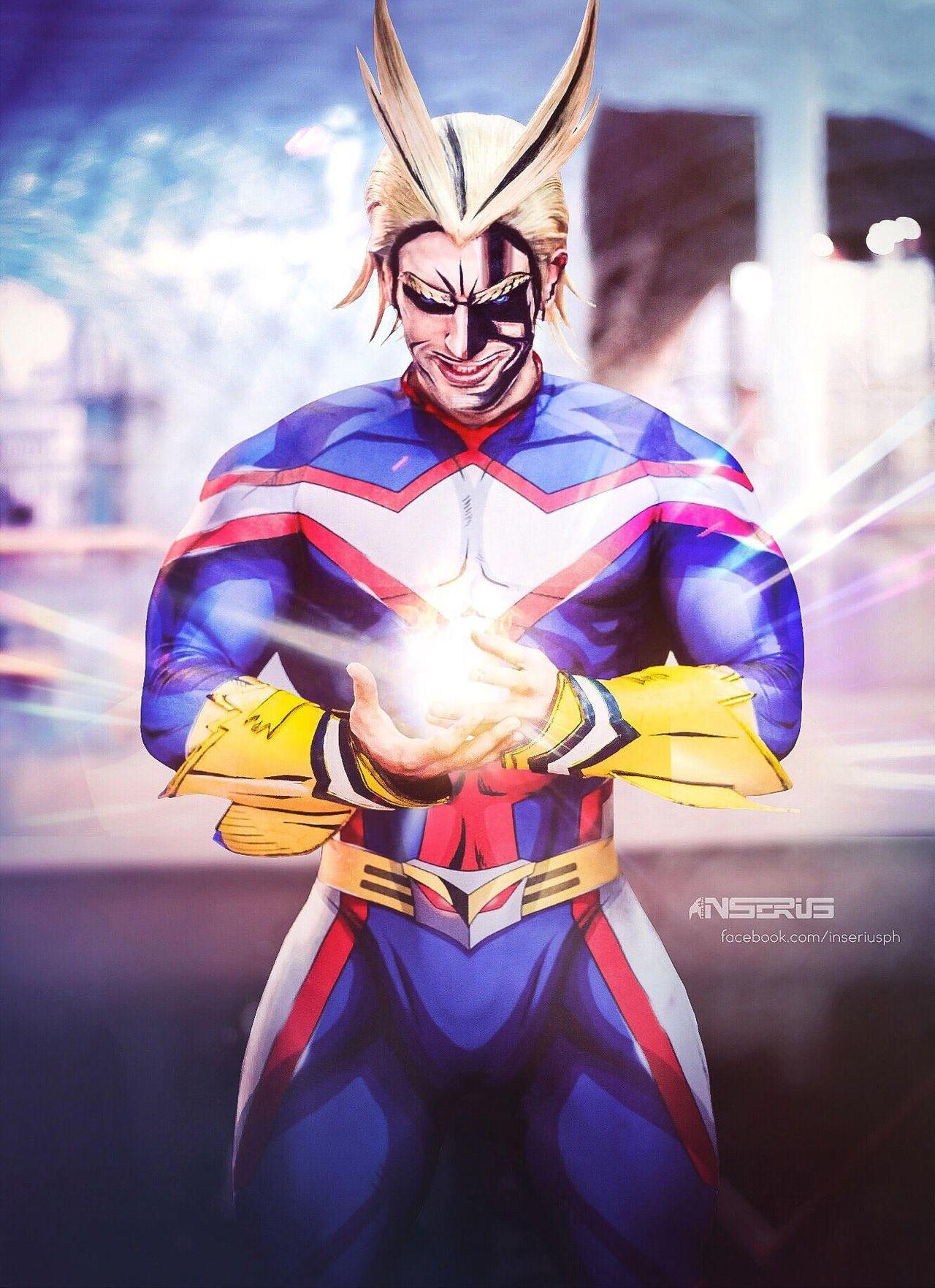 my hero academia anime all might